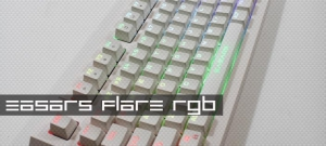 EASARS flare Gaming Keyboard - Outemu MX Series