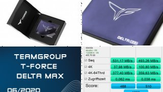 T-Force Delta Max RGB SSD im Test