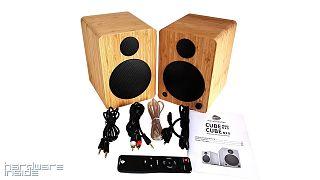 Wavemaster Cube Mini Neo Bamboo 2 0 Soundsystem Im Test