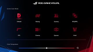 Software ROG Game Visual